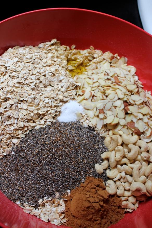 Granola Chia Cashew raw