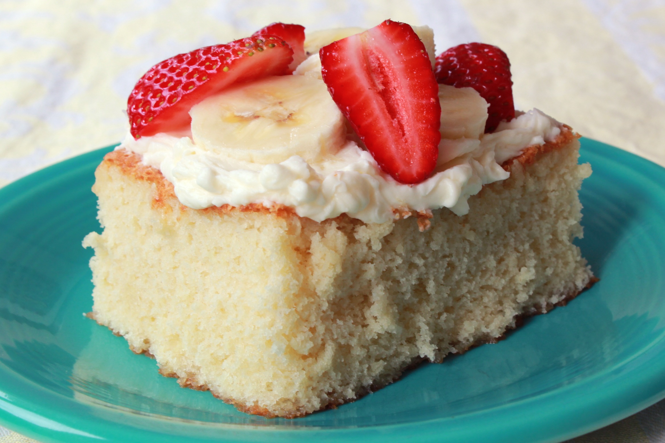 Vanilla Hot Milk Sponge Cake