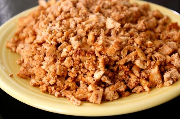Spicy Tofu Crumbles