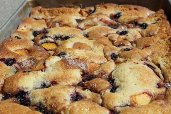 summer fruit butter cake pan