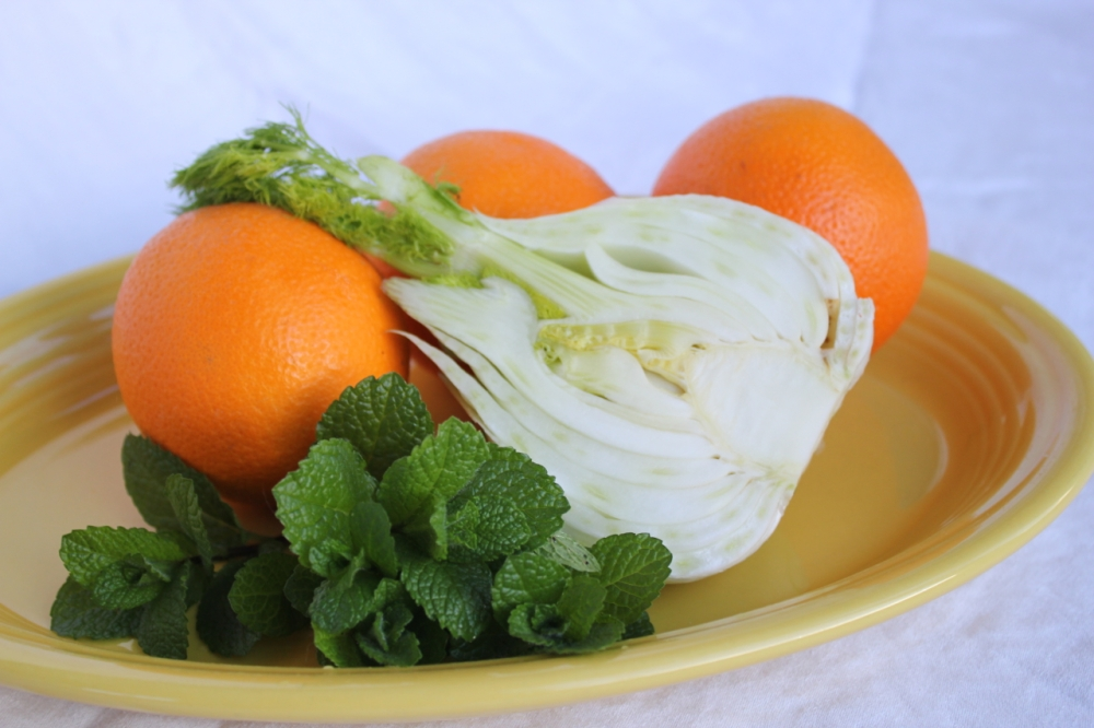 Orange Fennel salad 1