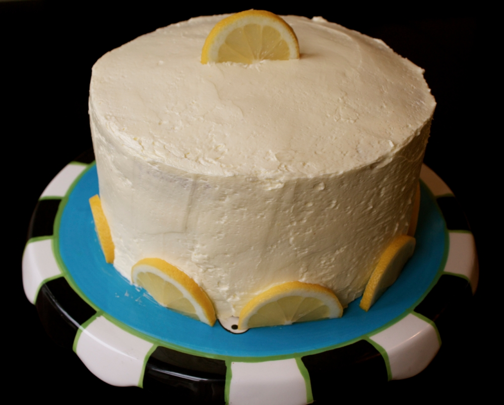 Lux Lemon Layer Cake