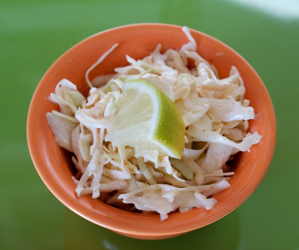 Lime Chipotle Slaw
