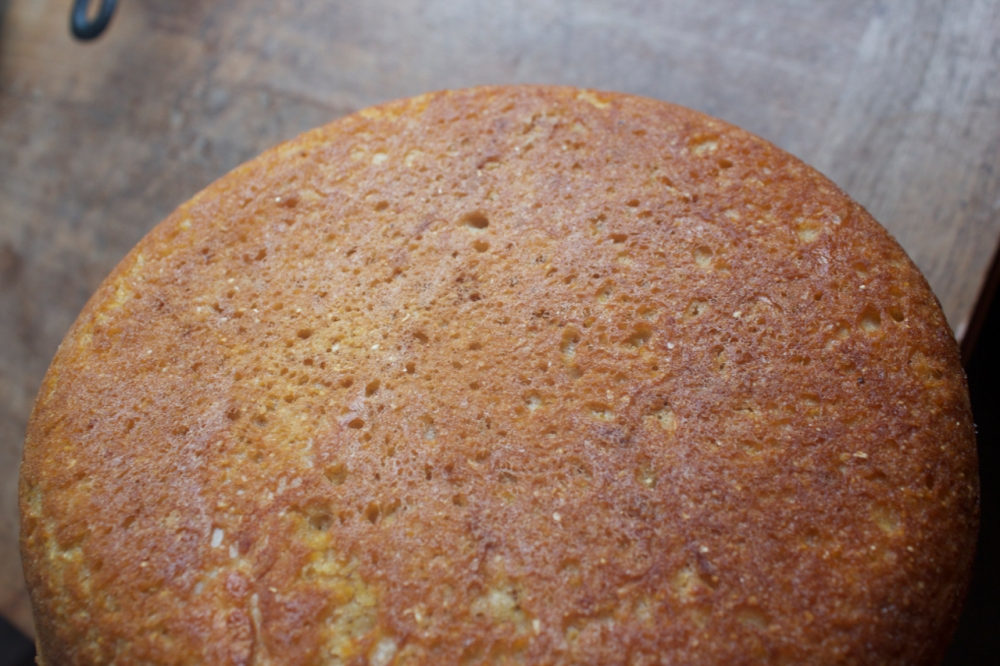Wholegrain Cornbread crust