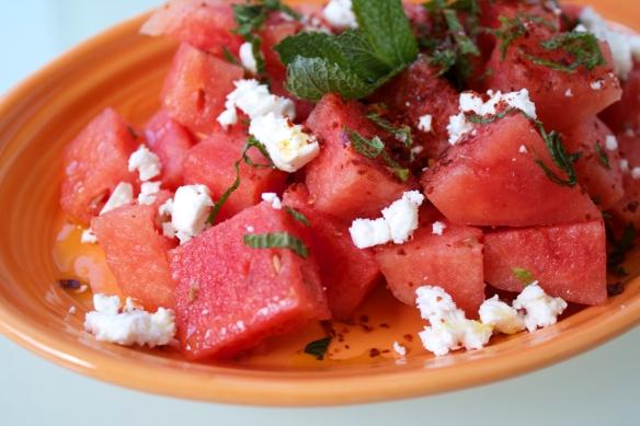 Watermelon, Mint, and Feta Salad