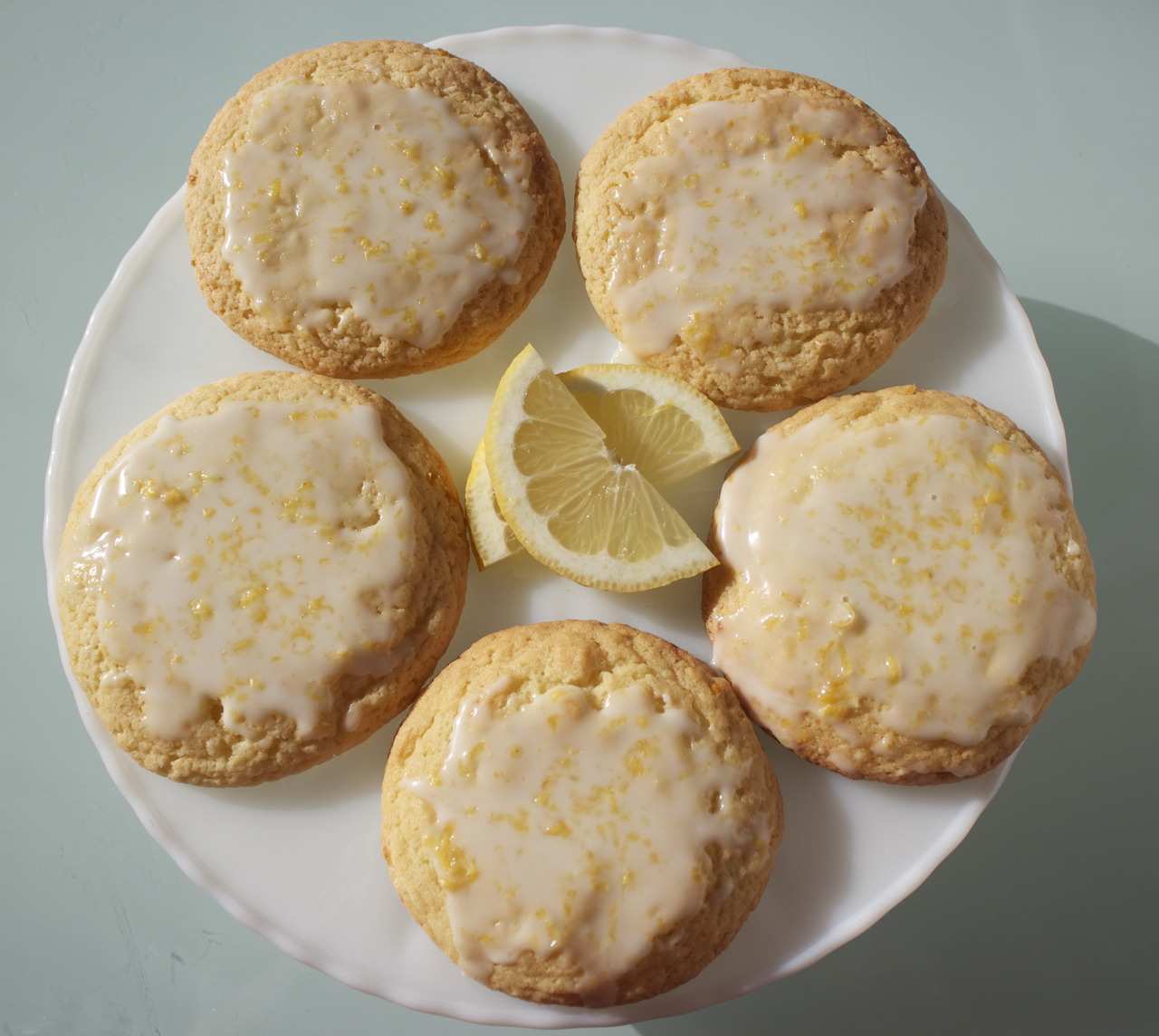 Glazed Lemon Drop Cookies