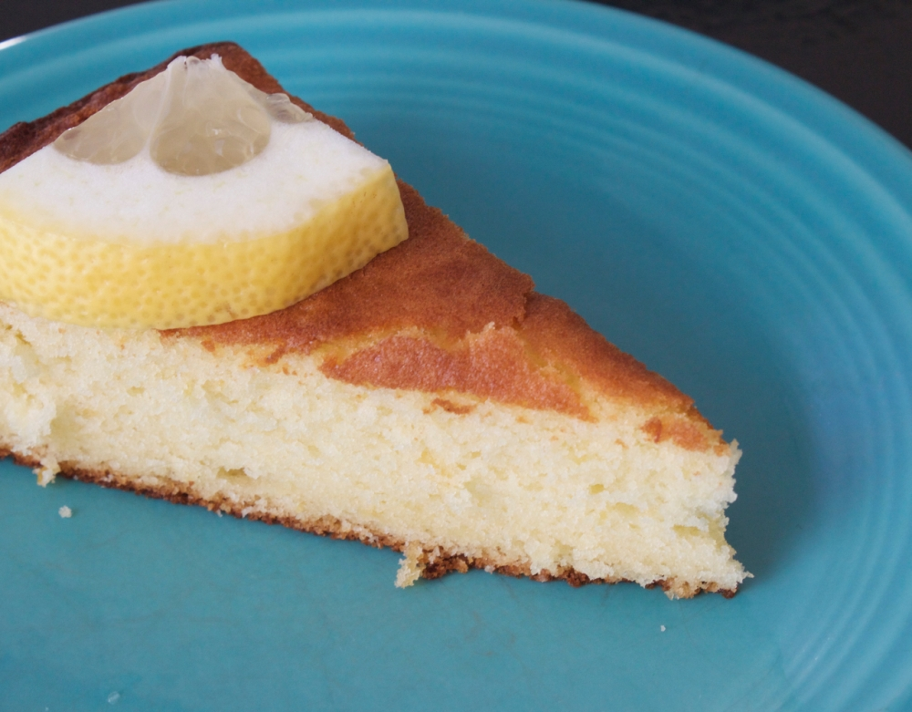 Lemon Olive Oil Sponge Cake