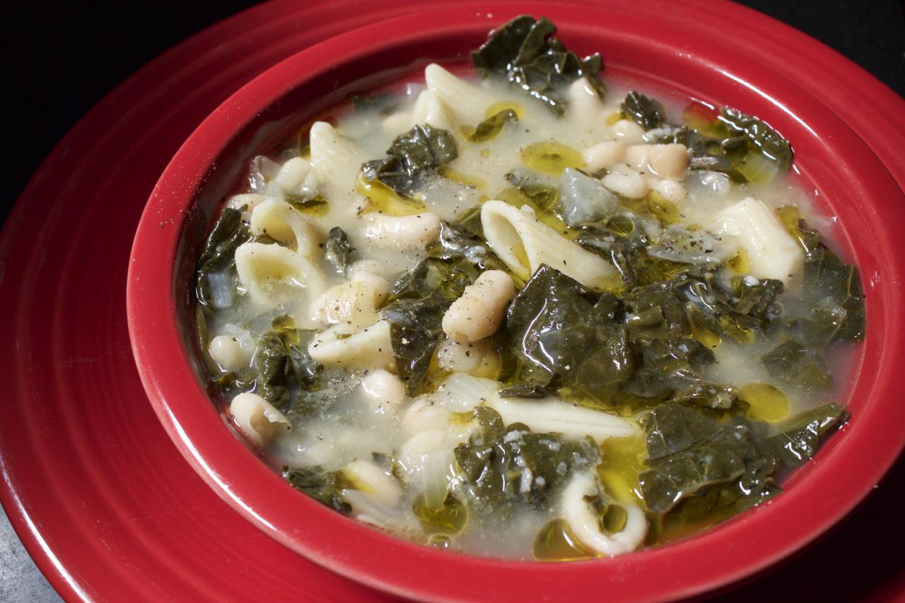 White Bean and Kale Soup – Recipemuse