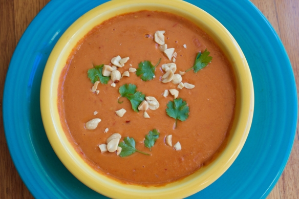 Peanut Ginger Soup