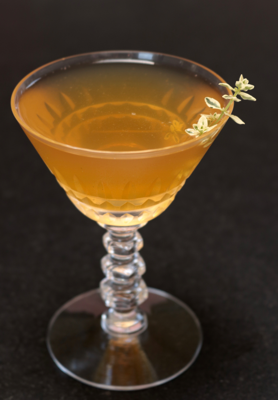 Venus Thistle Cocktail
