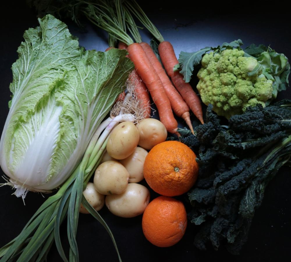Vegetables 2/9/18